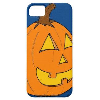 Jack o' Lantern Blue iPhone 5 Case