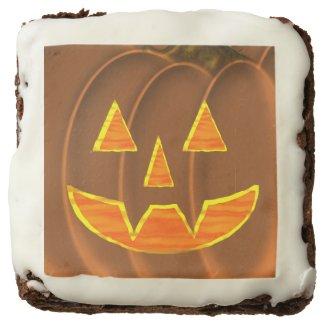 Jack-O-Lantern Brownie