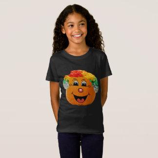 Jack o' Lantern Clown Face, Halloween Pumpkin T-Shirt