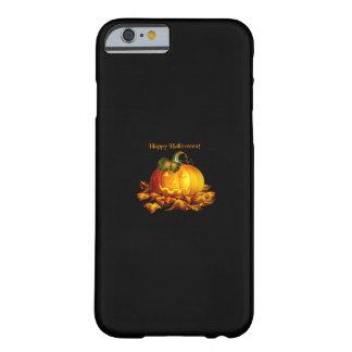 Jack-o-Lantern (dark bg) Barely There iPhone 6 Case