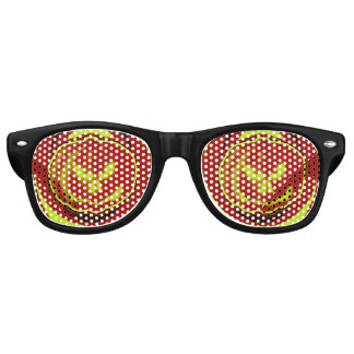 Jack O Lantern Eyes Retro Sunglasses