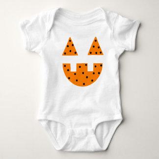 Jack O' Lantern Face Baby Bodysuit