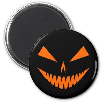 Jack-O'-Lantern Face I, Orange Fridge Magnets