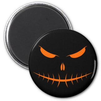 Jack-O'-Lantern Face III, Orange Magnets