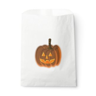 Jack-O-Lantern Favor Bag
