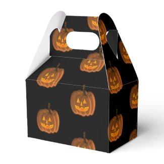 Jack-O-Lantern Favor Box