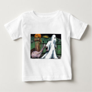 Jack O' Lantern Ghost Costume Cemetery Candy Tee Shirts