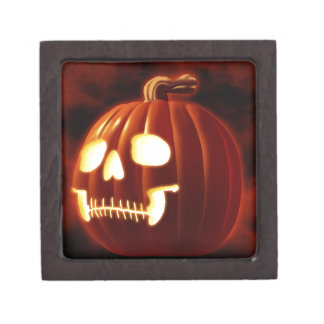 Jack-o-lantern Gift Box