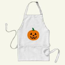 Jack O Lantern Halloween Apron