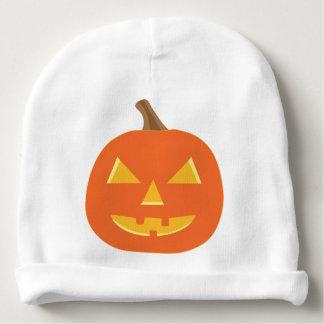 Jack O Lantern Halloween Baby Beanie