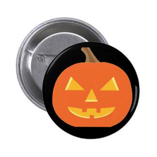 Jack O Lantern Halloween Button