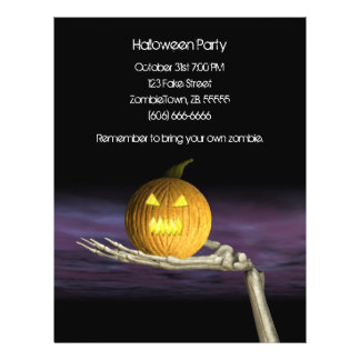 Jack-o-Lantern - Halloween Flyer