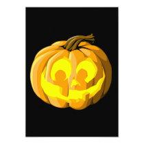 artsprojekt, halloween, jack o lantern, pumpkin, party, holiday, invitation, Convite com design gráfico personalizado