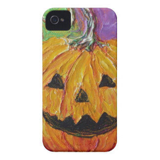 Jack-O-Lantern Halloween iPhone 4 Case