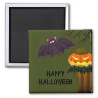 Jack-O-Lantern Halloween Magnet