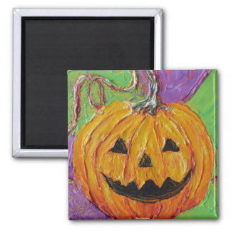 Jack-O-Lantern Halloween Magnets
