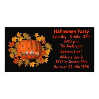 Jack O Lantern Halloween Party Invite