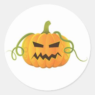 jack-o-lantern Halloween Pumpkins Classic Sticker