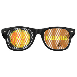 Jack O Lantern Halloween Retro Sunglasses