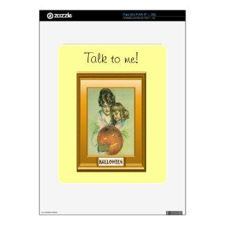 Jack O lantern Halloween Decal For iPad