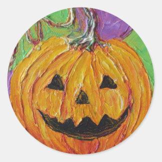 Jack-O-Lantern Halloween Sticker