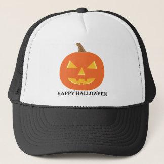 Jack O Lantern Halloween Trucker Hat