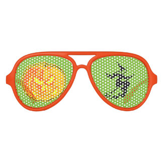 Jack O Lantern Halloween/Witch Aviator Sunglasses