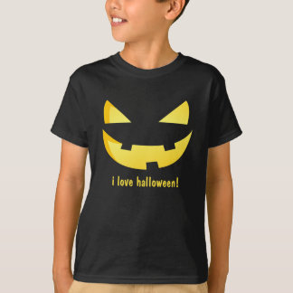 Jack-o'-lantern Happy faces - Happy Halloween! T-Shirt