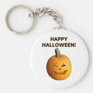 Jack O' Lantern - Happy Halloween! Keychain