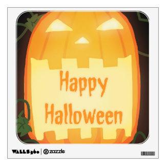 Jack O' Lantern Happy Halloween Wall Decor