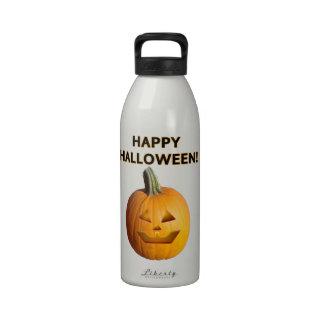 Jack O' Lantern - Happy Halloween! Drinking Bottle