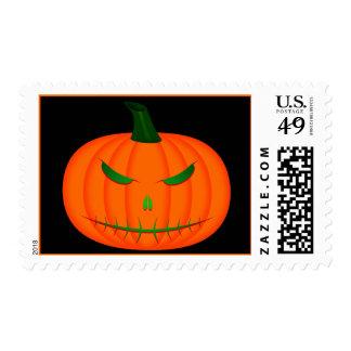 Jack-O'-Lantern III Postage Stamps