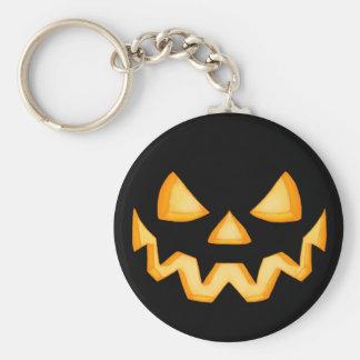 Jack O Lantern In The Dark 1 Keychain
