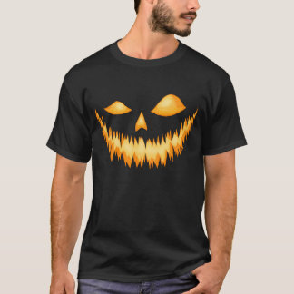 Jack O Lantern In The Dark With An Evil Grin 2 T-Shirt