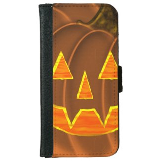 Jack-O-Lantern iPhone 6/6s Wallet Case