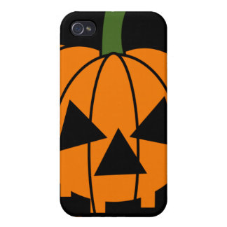 Jack O Lantern Cover For iPhone 4