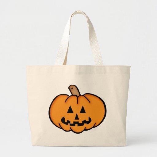 Jack O Lantern Jumbo Tote Bag