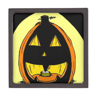 Jack o' Lantern Keepsake Box