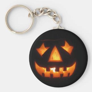 Jack-o'-lantern Keychain