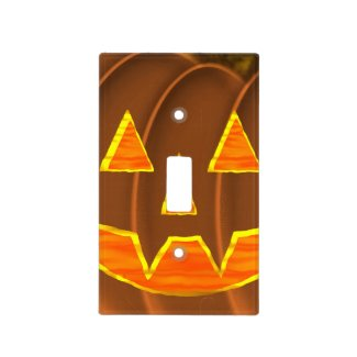 Jack-O-Lantern Light Switch Cover