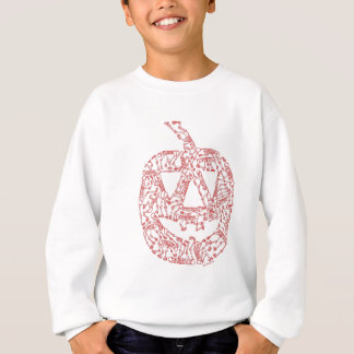 JACK-O-LANTERN made of Skeletons Sweatshirt
