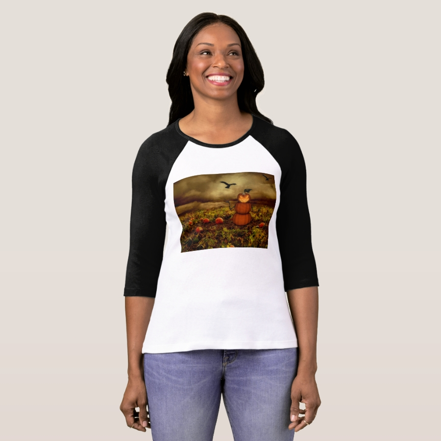 jack-o'-lantern man pumpkin patch T-Shirt - Best Selling Long-Sleeve Street Fashion Shirt Designs
