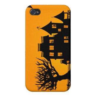 Jack O Lantern Manor iPhone 4 Case