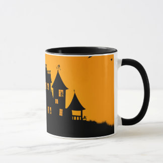 Jack O Lantern Manor Mug