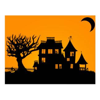 Jack O Lantern Manor Postcard