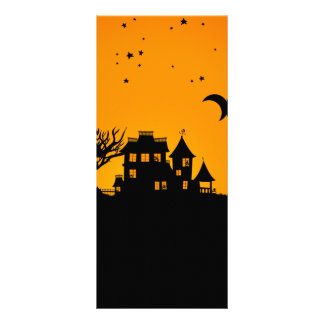 Jack O Lantern Manor Rack Card