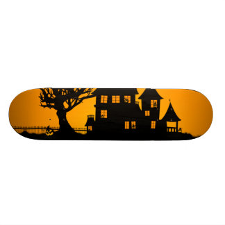 Jack O Lantern Manor Skateboard Deck