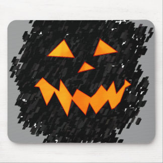 Jack O Lantern Monster Mouse Pad