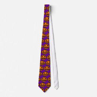 Jack-o'-Lantern Neck Tie