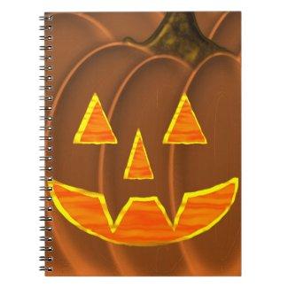 Jack-O-Lantern Notebook